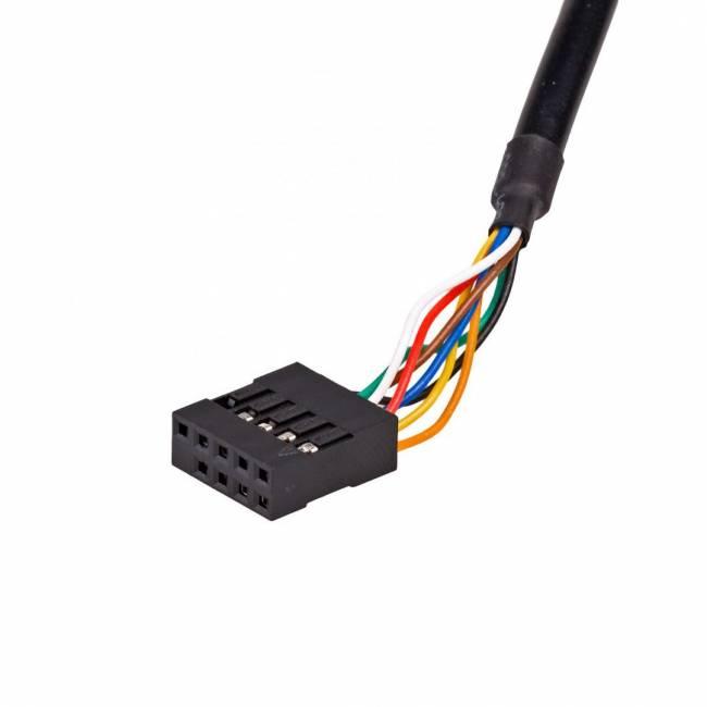 """AK-CA-37 Memory card reader 3.5"""" Black"""