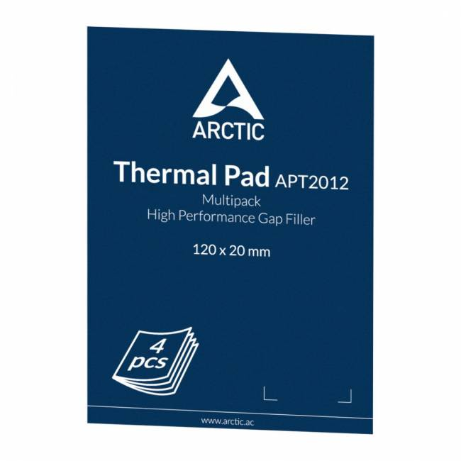 Thermal Pad Basic 120 x 20 mm (0.5mm) Pack of 4