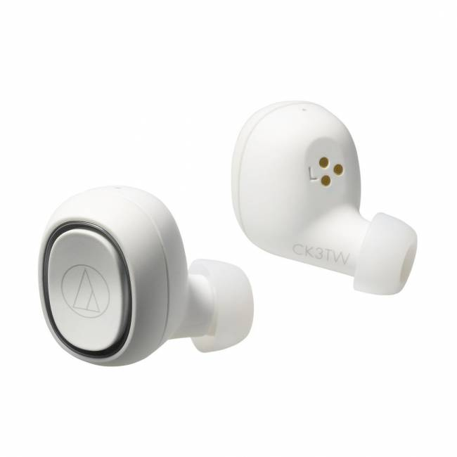 ATH-CK3TWWH Wireless Bluetooth Headset White