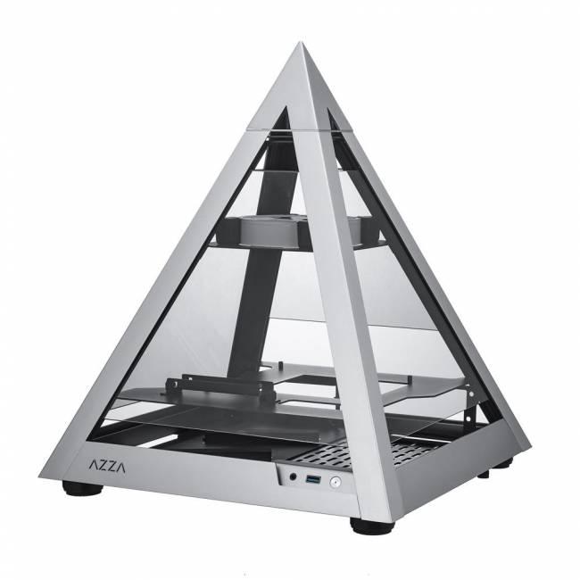 Pyramid 806 Mini Tempered Glass Silver
