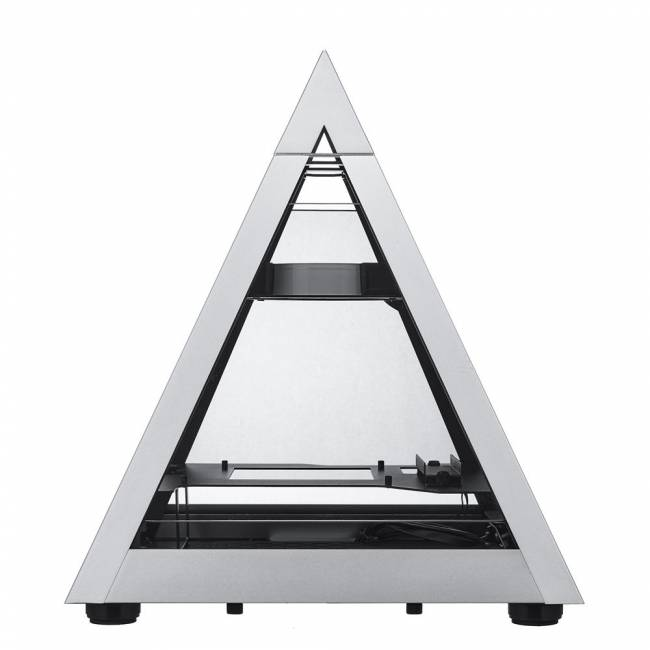 Pyramid 806 Mini Tempered Glass Silver