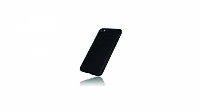 BH1013 Matt slim Szilikon tok Iphone XS Max - fekete