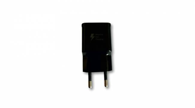 BH1027 Telefon töltőfej gyorstöltő OEM logo nélkül - fekete