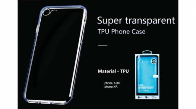 BH1030 Super Transparent TPU Telefon Tok Iphone X/XS