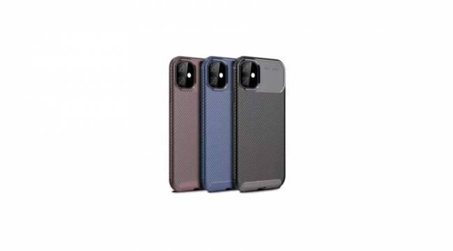 "BH1067 Carbon mintás tok Iphone 2019 6,5"" Black"