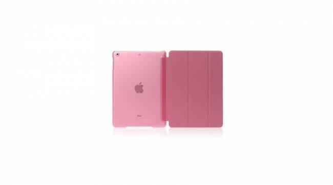 BH557 Ipad tok előlappal Air2/PRO 9,7 Pink