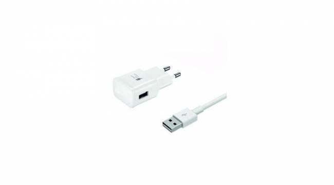 BH801 Hálózati gyorstöltő 2A, Type-C kábel 1m fehér