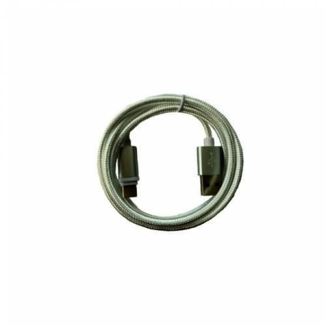 BH807 Adatkábel Type-C USB - 2A - 3m - ezüst