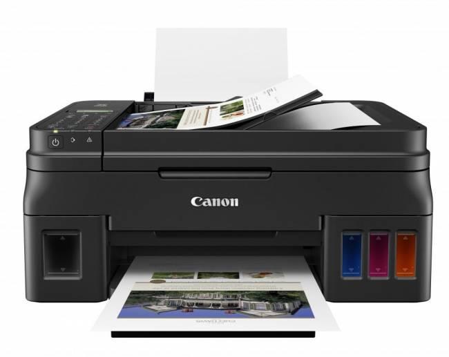G4411 PIXMA wireless tintasugaras nyomtató/másoló/síkágyas scanner/fax