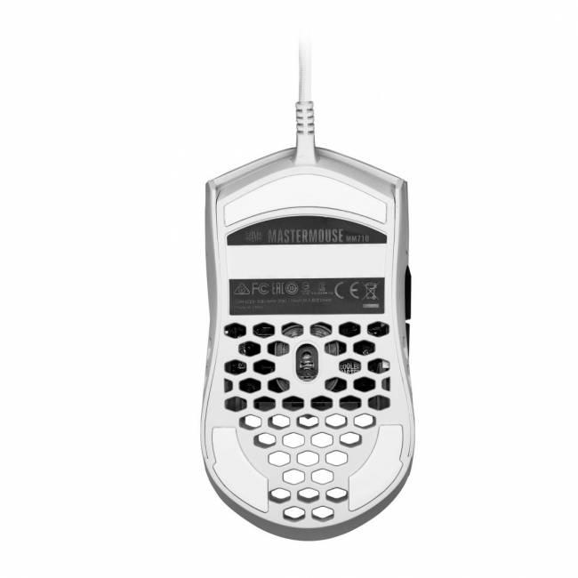 MM710 Light mouse Matte White