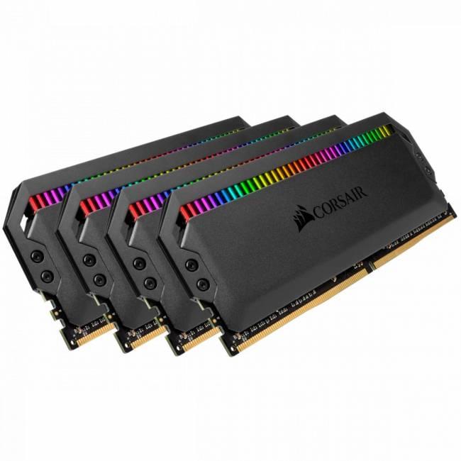 32GB DDR4 3600MHz Kit(4x8GB) Dominator Platinum RGB Black