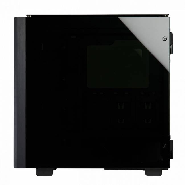 Obsidian Series 500D RGB SE Tempered Glass Black