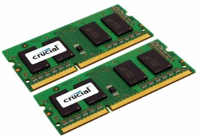 8GB DDR3 1600MHz Kit (2x4GB) SODIMM