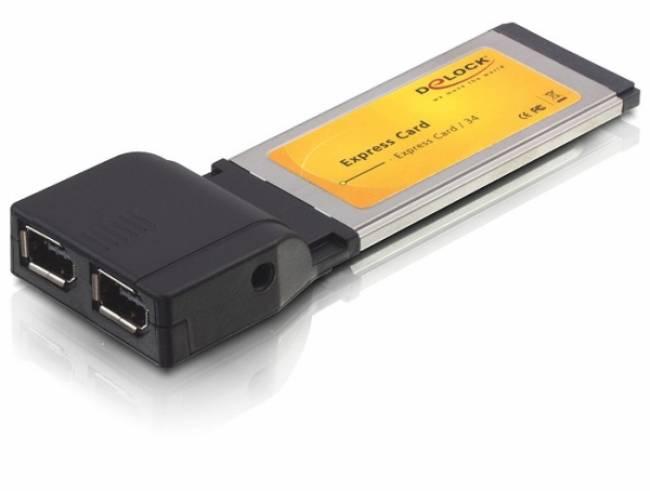 FireWire  ExpressCard  2 port