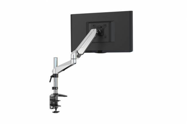 DA-90351 Universal Single Monitor Mount with gas spring and table fixture