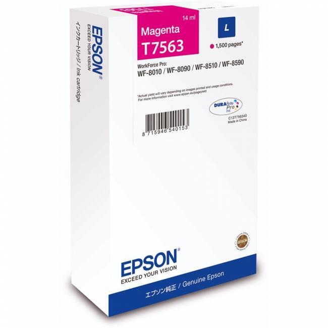 T7563 Magenta tintapatron