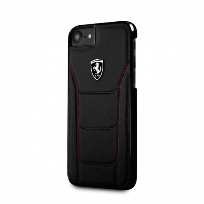 Heritage 488 iPhone 8 Plus Leather case Black