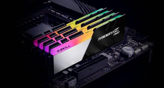 128GB DDR4 3200MHz Kit(4x32GB) TridentZ Neo (for AMD)