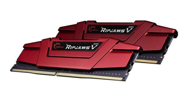 16GB DDR4 3000MHz Kit(2x8GB) RipjawsV Red