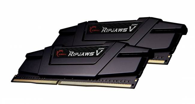 16GB DDR4 3200MHz Kit(2x8GB) RipjawsV Black