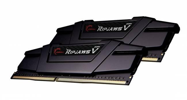 16GB DDR4 4400MHz Kit(2x8GB) RipjawsV Black