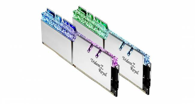 16GB DDR4 4400MHz Kit(2x8GB) TridentZ Royal Silver