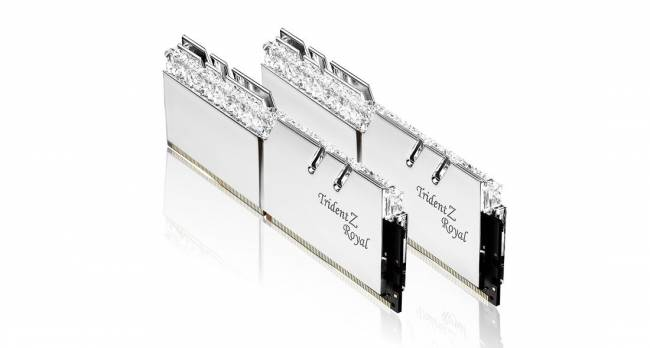 16GB DDR4 4600MHz Kit(2x8GB) TridentZ Royal Silver