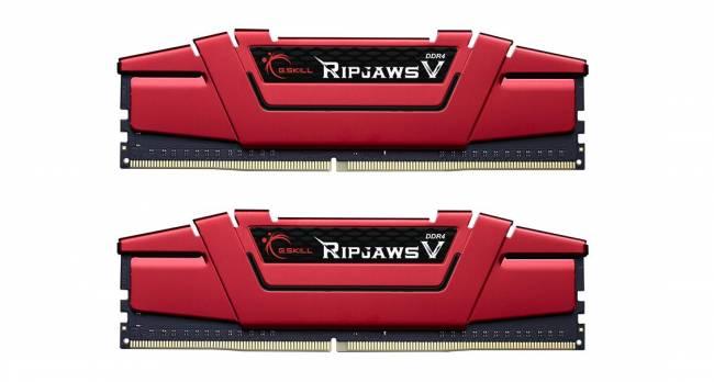 32GB DDR4 2666MHz Kit(2x16GB) RipjawsV Red