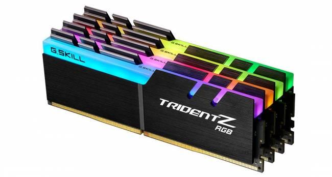 64GB DDR4 3600MHz Kit(4x16GB) TridentZ RGB