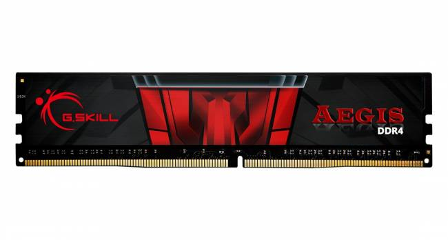 8GB DDR4 3200MHz Aegis Black