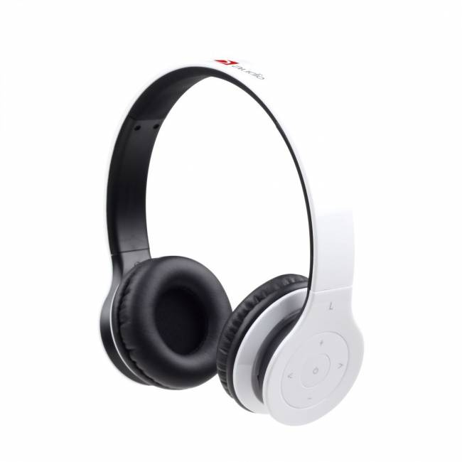 Berlin Bluetooth Stereo Headset White