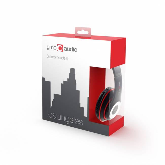 Los Angeles 2.0 Headset Black