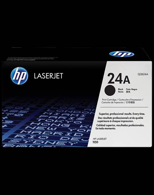 Q2624A (24A) Black toner