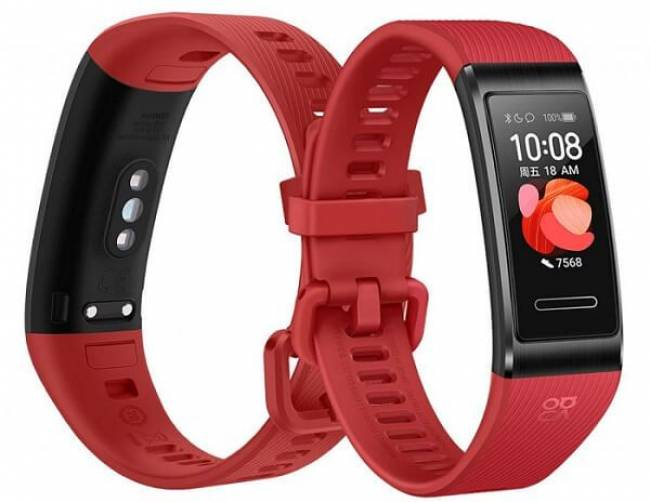 Band 4 Pro Red