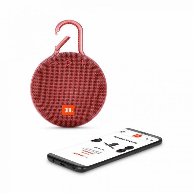 Clip3 Bluetooth Speaker Red