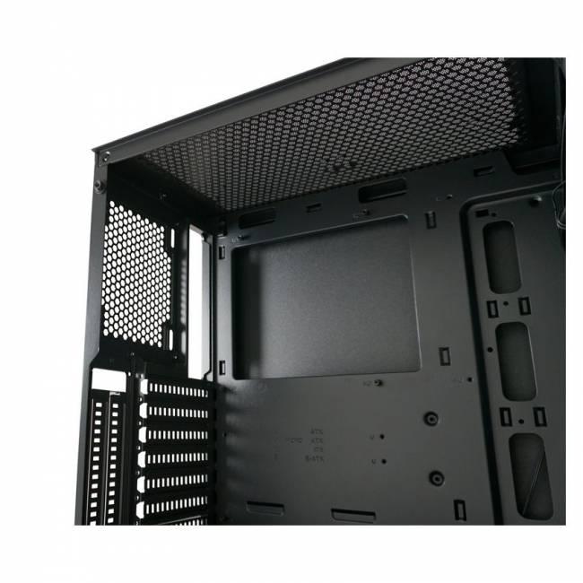 Gaming 701B  BadgeX Window Black