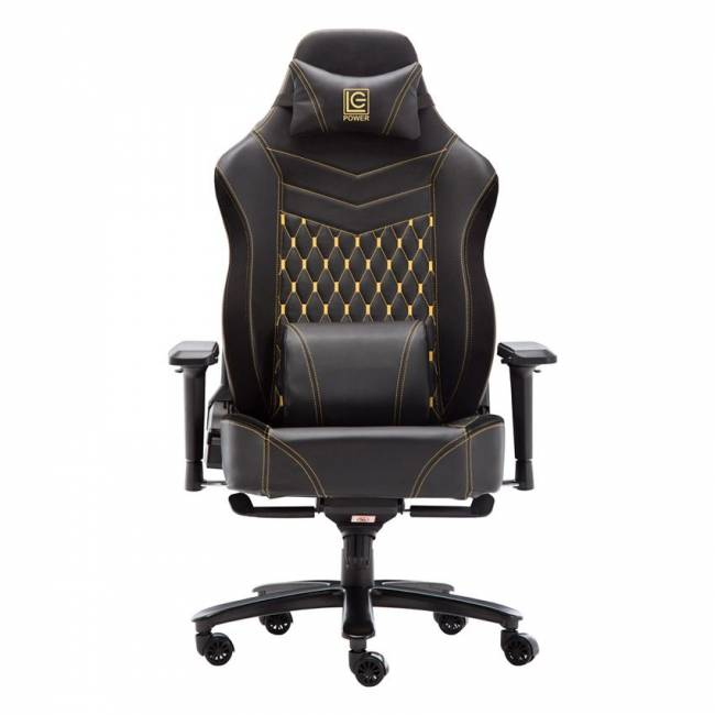 LC-GC-800BY Gaming Chair Black/Yellow