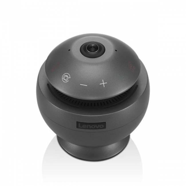 VoIP 360 Camera Speaker Gun Metal