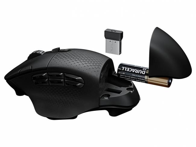 G604 LightSpeed Hero Wireless Gaming mouse Black