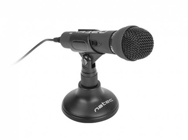 Adder Microphone Black