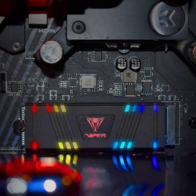 1TB M.2 2280 Viper Gaming RGB VPR100