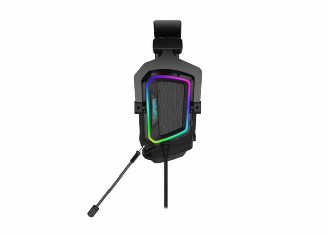 Viper V380 Virtual 7.1 Gaming Headset Black