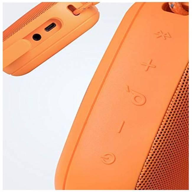 Icon Mini Bluetooth Speaker Orange
