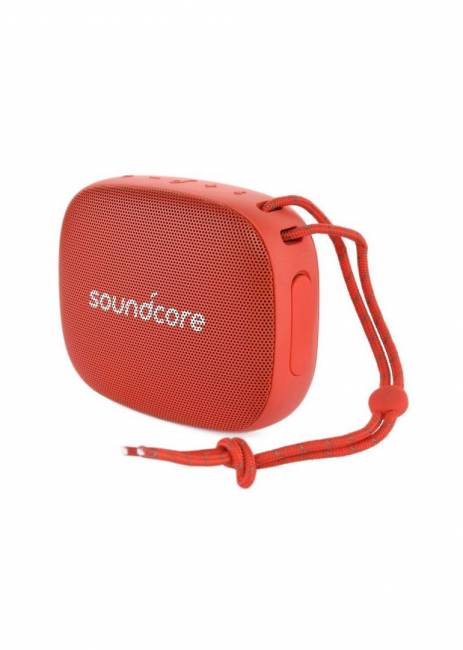 Icon Mini Bluetooth Speaker Red