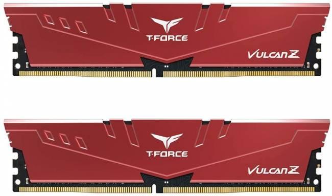 32GB DDR4 3200MHz Kit(2x16GB) Vulcan Z Red