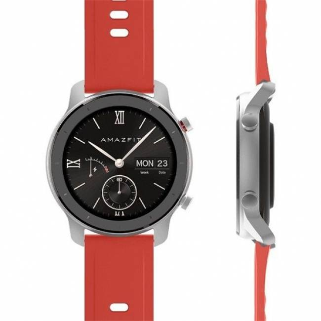Amazfit GTR 42mm Silver/Red